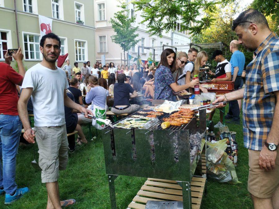 Grillen am Sommerfest