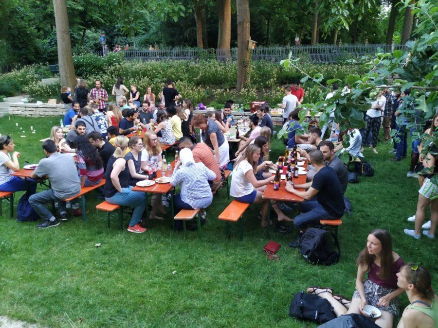 Sommerfest im Garten der ESG