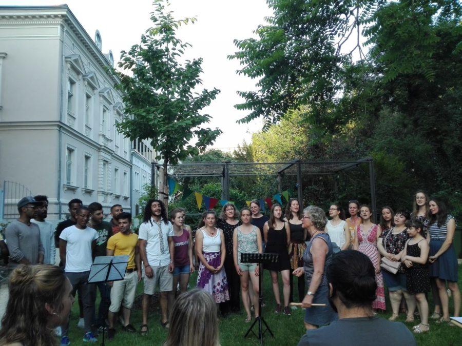 Chor am Sommerfest 2019
